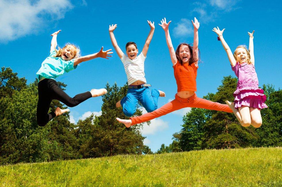 Laimingi vaikai (nuotr. Fotolia.com)
