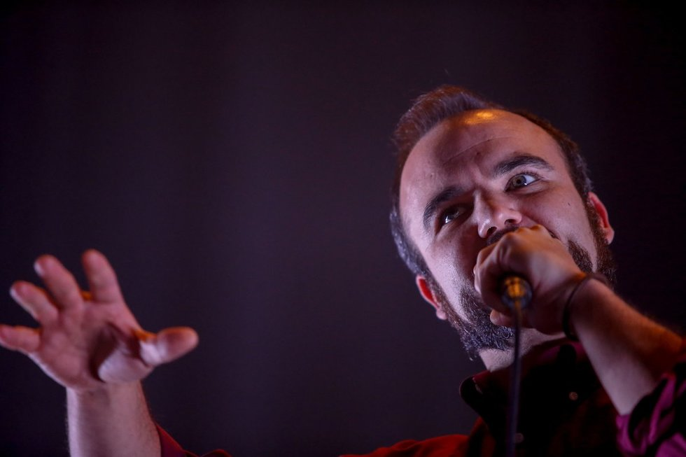 """Future Islands"" (nuotr. Fotodiena.lt)"