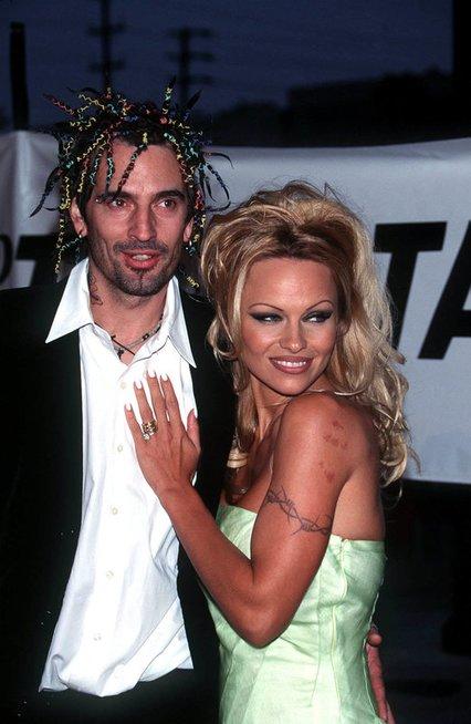 Pamela Anderon ir Tommy Lee (nuotr. Vida Press)