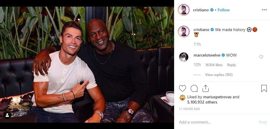 C. Ronaldo žinutė instagrame (nuotr. Instagram)