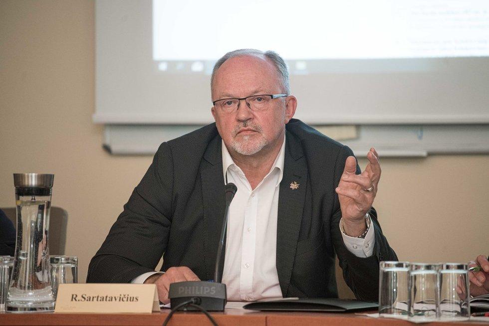 Ričardas Sartatavičius (Arnas Strumila/ Foto diena nuotr.)