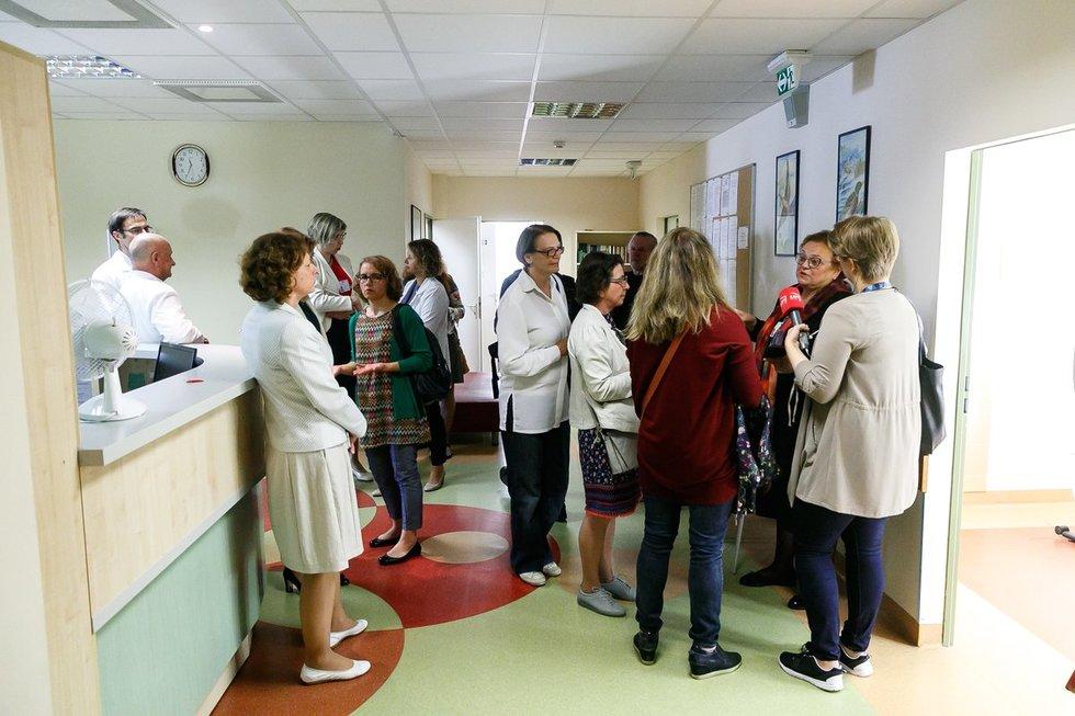 Vaiko raidos centro naujų patalpų atidarymas (nuotr. Tv3.lt/Ruslano Kondratjevo)