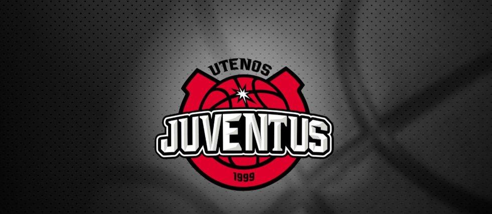 """Naujas Utenos """"Juventus"""" logotipas  (nuotr. Organizatorių)"""