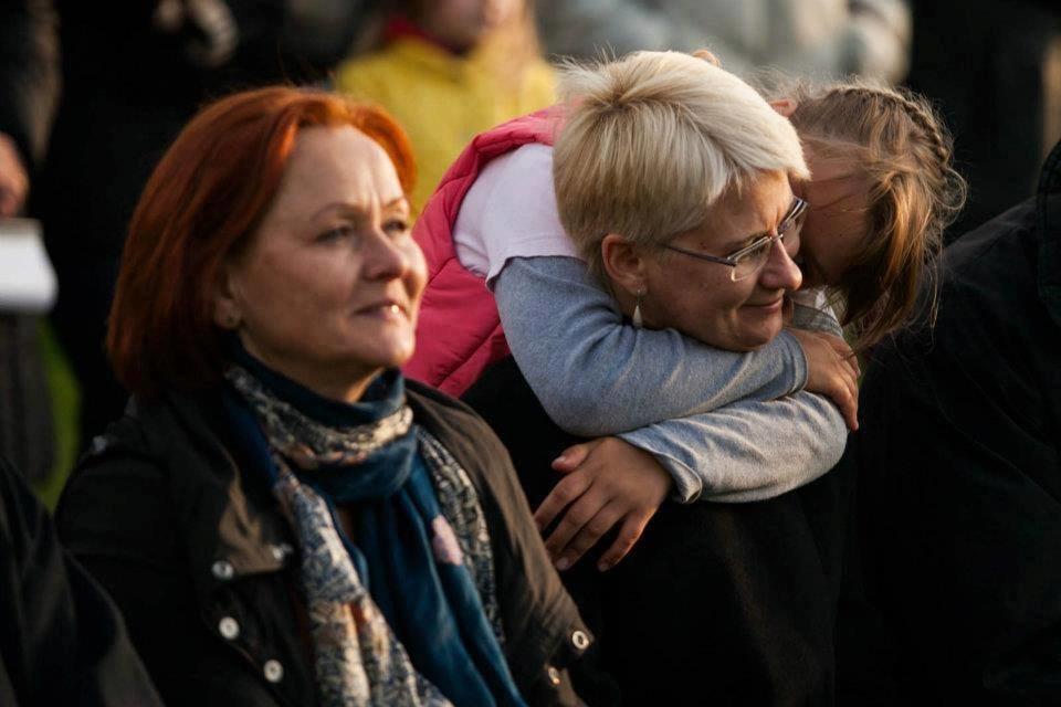 N. Venckienė su dukterėčia (Wikimedia.org)