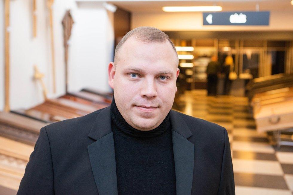 Jevgenijus laidojimo rūmuose dirba jau daugiau nei penkiolika metų