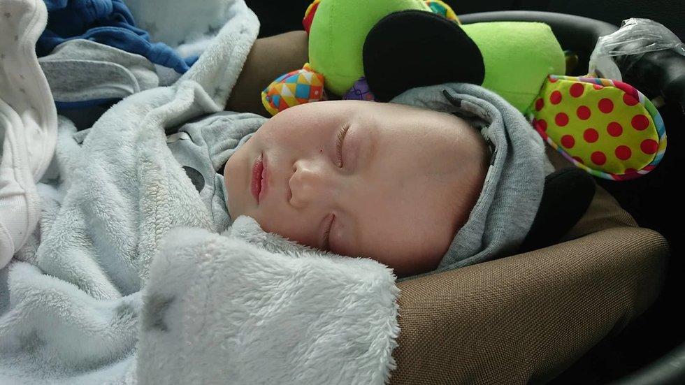 Dėl retos medžiagų apykaitos ligos Kajus miega labai dažnai
