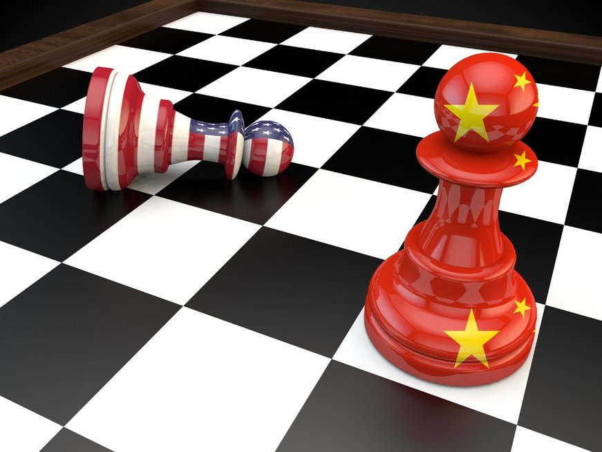 JAV ir Kinija (nuotr. 123rf.com)