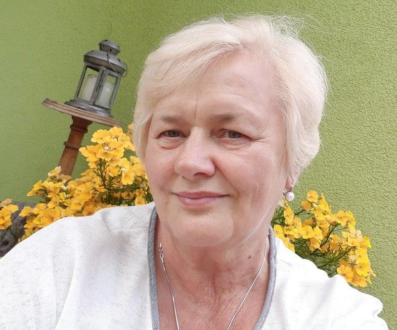 Vilniaus miesto psichikos sveikatos centro Psichosocialinės reabilitacijos skyriaus vadovė Ona Davidonienė. Asmeninio archyvo nuotr.