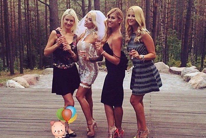 Marinos vestuvių šventę atstojo įspūdingas mergvakaris: išskirtinės nuotraukos