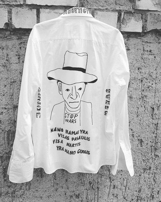 Marškiniai apie Joną Meką
