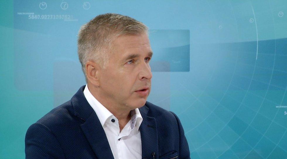 Klimatologas Arūnas Bukantis (nuotr. stopkadras)