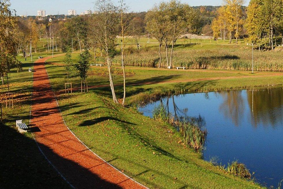 Vilniuje atveriamas Ozo parkas.  (nuotr. Elta)