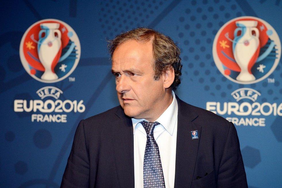 Michelis Platini (nuotr. SCANPIX)