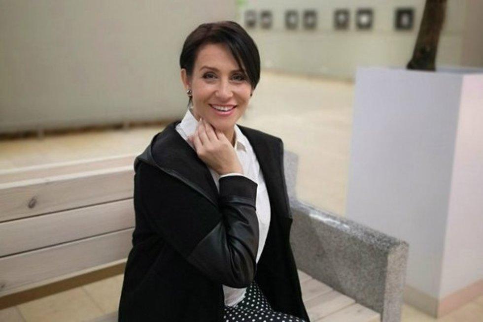 Irena Starošaitė nusirėžė plaukus (nuotr. asm. archyvo)