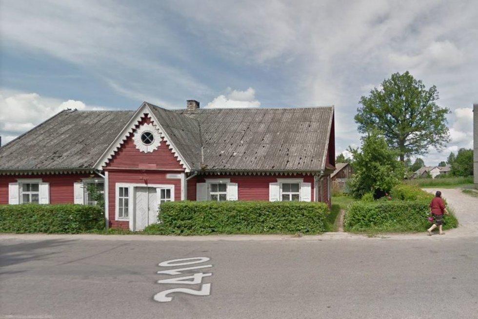 Šimonių miestelis, google maps stopkadras (nuotr. stop kadras)