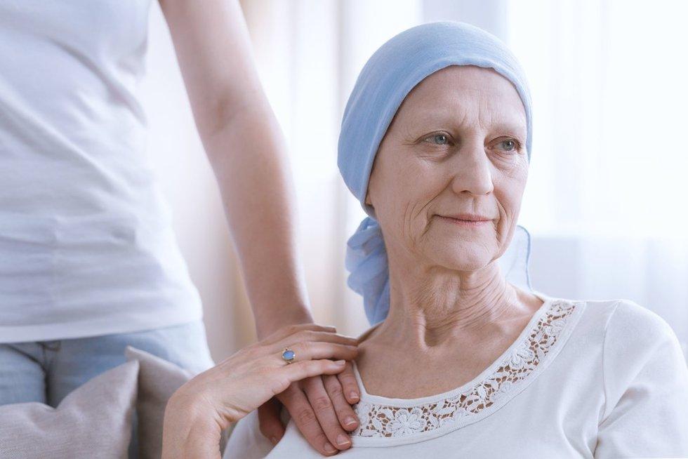 Onkologinis pacientas (nuotr. 123rf.com)