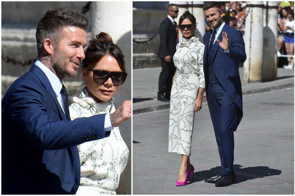 Victoria ir Davidas Beckhamai (nuotr. SCANPIX) tv3.lt fotomontažas