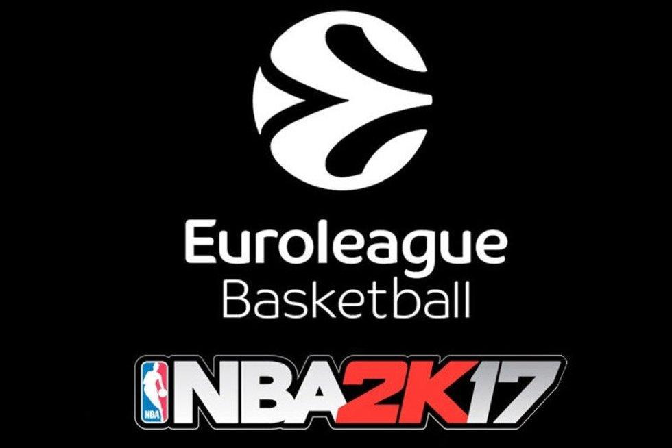 """""""NBA2k17"""" logotipas (nuotr. kūrėjų)"""