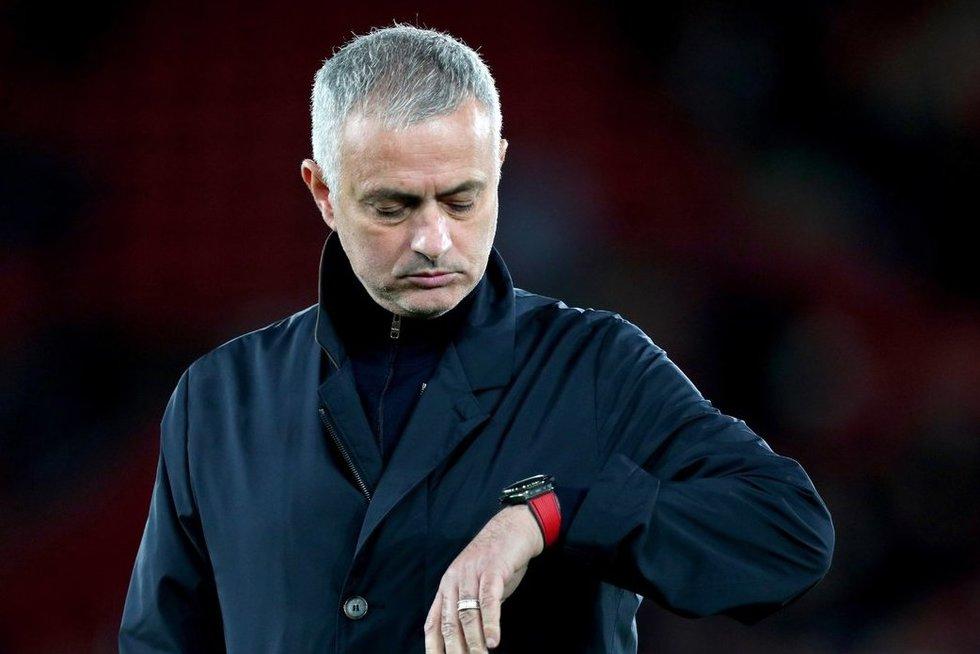 J.Mourinho (nuotr. SCANPIX)