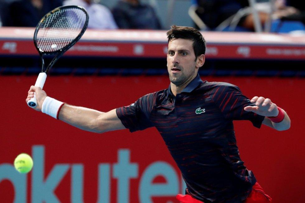 Novakas Djokovičius (nuotr. SCANPIX)