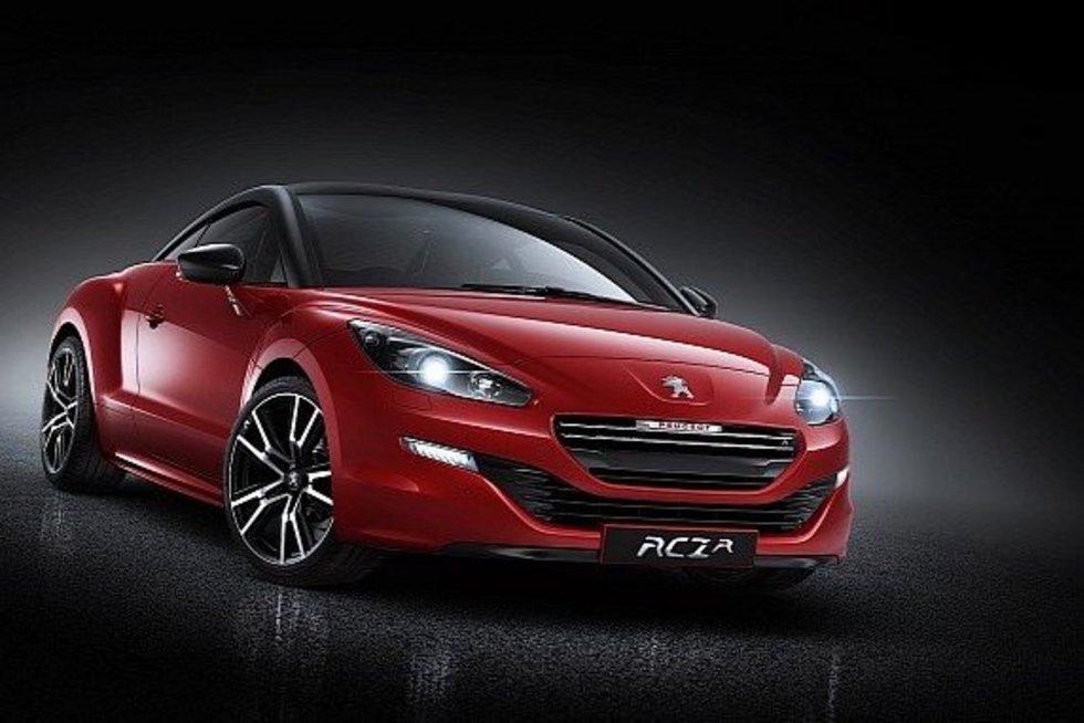 """Peugeot RCZ R"".  (nuotr. Gamintojo)"
