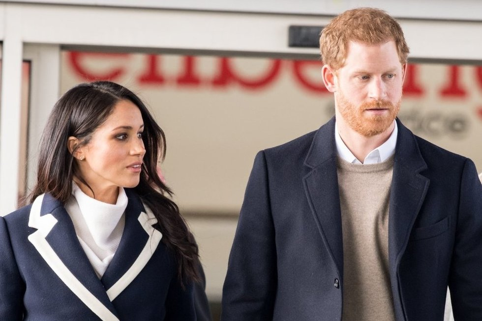 Meghan Markle ir princas Harry (nuotr. Vida Press)