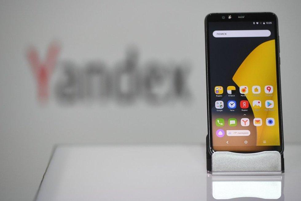 """""""Yandex"""" patentavo telefono savininko pajamas nustatančią technologiją (nuotr. SCANPIX)"""