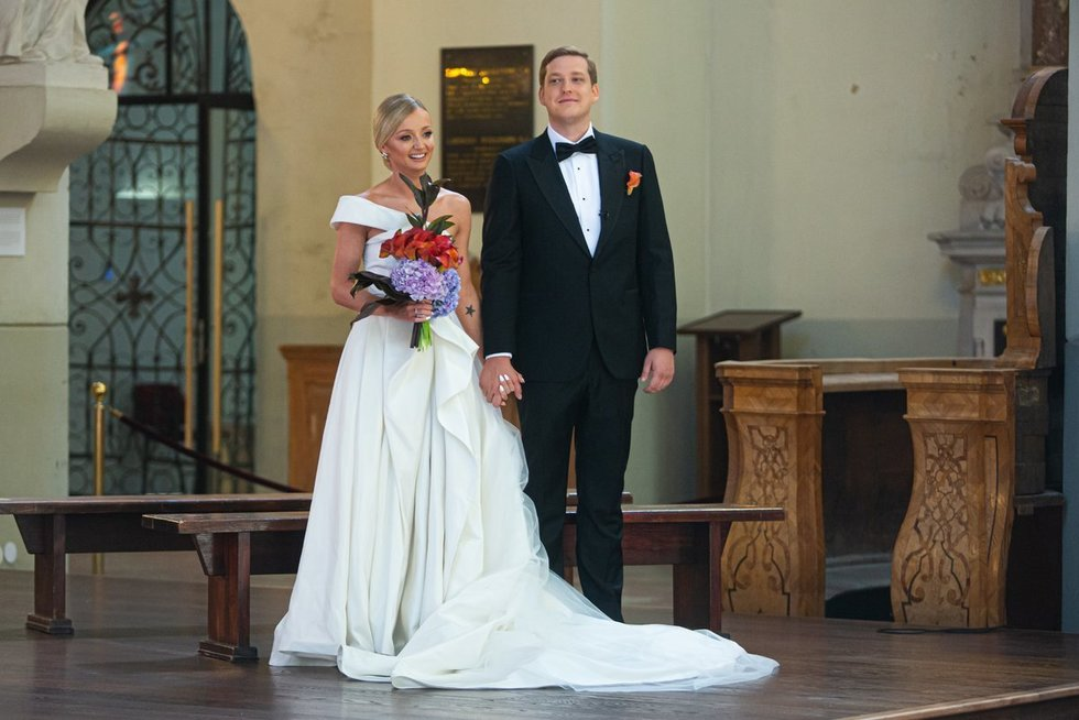 Ugnės Galadauskaitės ir Mariaus Sipario vestuvės  (Greta Skaraitienė/Fotobankas)