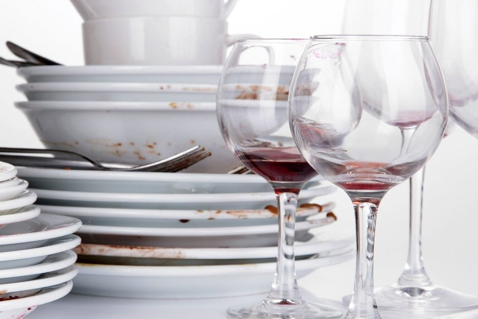 Purvinos stiklinės (nuotr. 123rf.com)