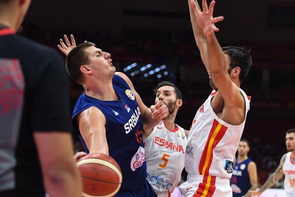 Serbijos vyrų krepšinio rinktinė (nuotr. SCANPIX)