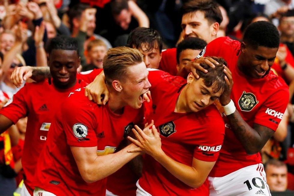"""Man Utd"" sezono startas pažymėtas pergale (nuotr. SCANPIX)"