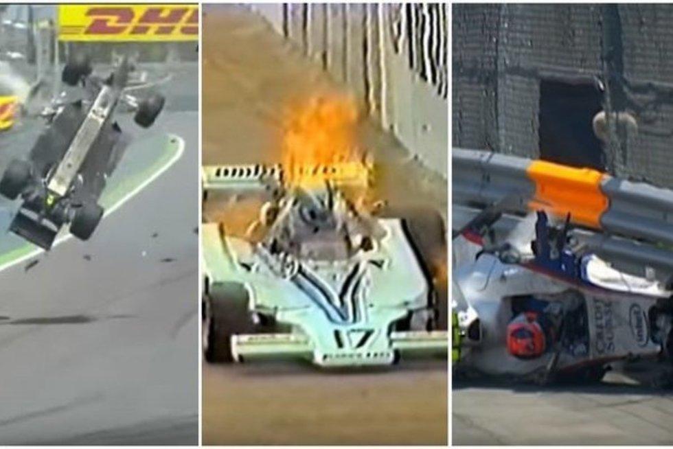"""15 šiurpiausių avarijų ir incidentų """"Formulės 1"""" istorijoje (N-18)   Youtube.com nuotr."""