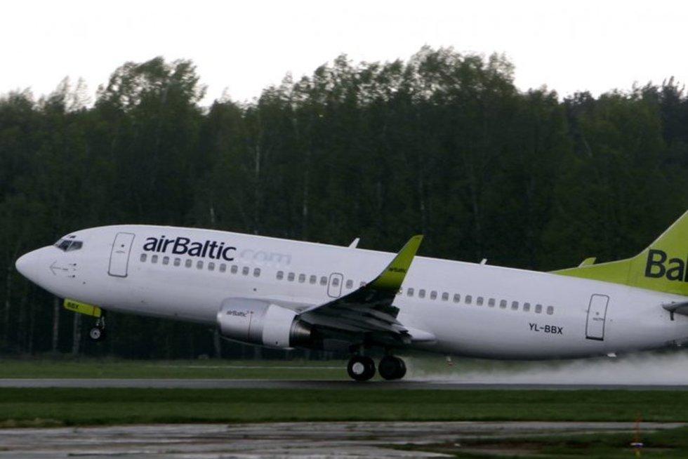 """""""Air Baltic"""" (nuotr. SCANPIX)"""