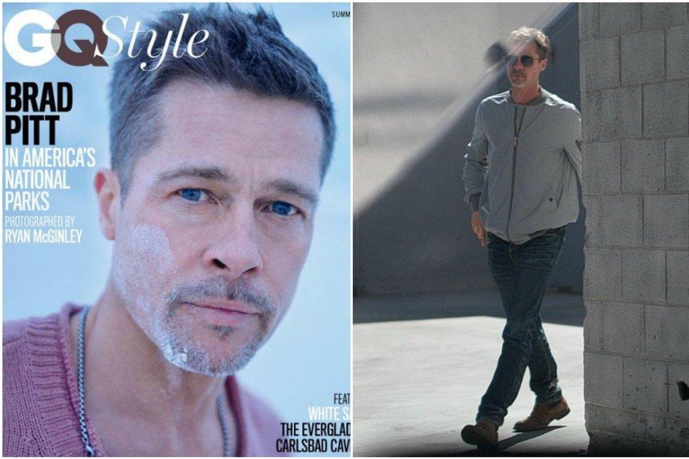 Bradas Pittas (nuotr. GQ magazine, Vida Press)