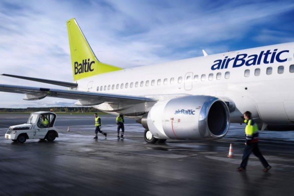 airBaltic (nuotr. Organizatorių)