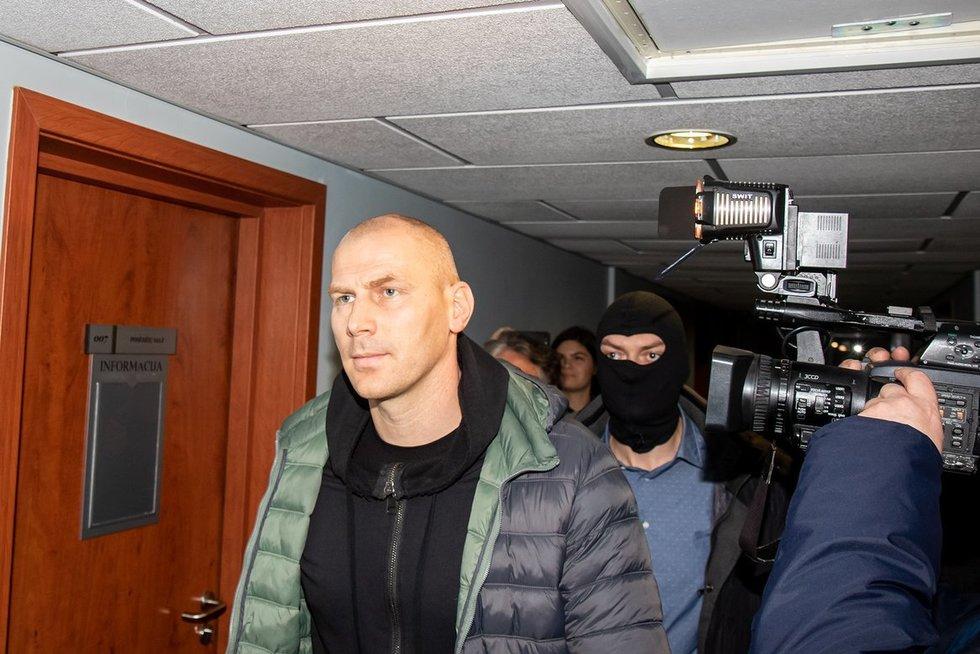 suėmimai Kauno policijos korupcijos byloje (nuotr. Broniaus Jablonsko)