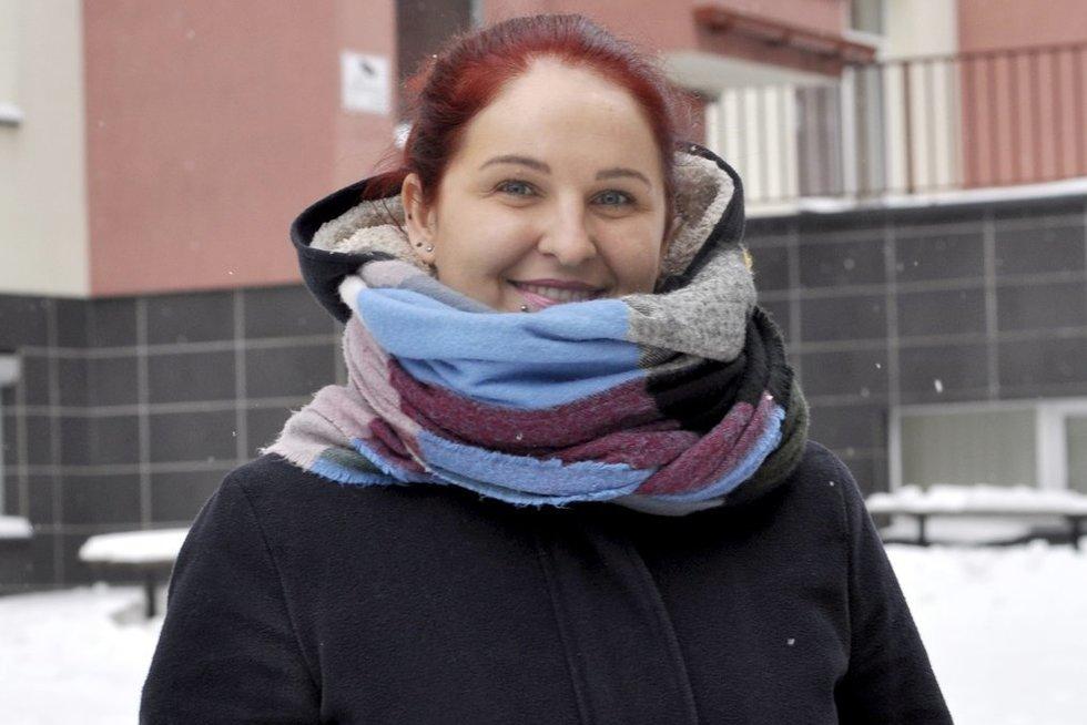 17 metų epilepsija serganti Aušra Pumputytė sako, kad šios ligos nereikia bijoti (nuotr. Nijolės Zenkevičiūtės)