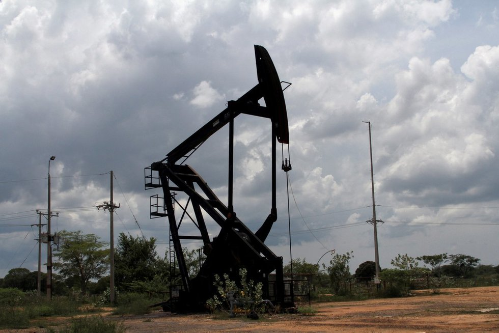 Naftos telkinys Venesueloje (nuotr. SCANPIX)