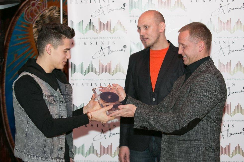 Martynas Tyla ir Donatas Montvydas (Fotobankas)