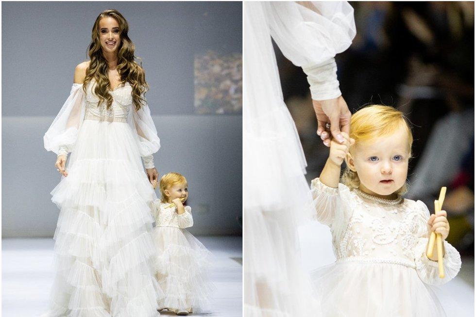 Viktorija Siegel su dukra Nicole (tv3.lt fotomontažas)