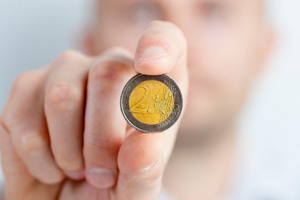 2 eurai (nuotr. Organizatorių)