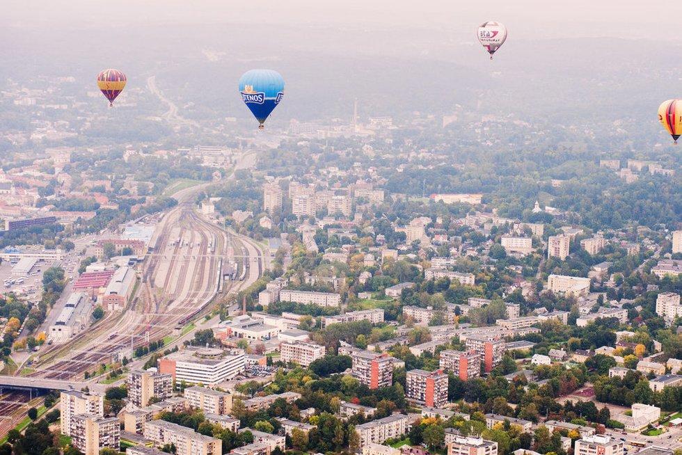 Vilniaus miestas (nuotr. Fotodiena.lt/Audriaus Bagdono)