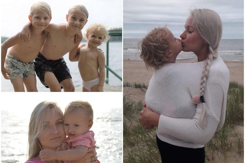 Trijų vaikų mama darbo vietą susikūrė pati: pasiūlė neeilinę paslaugą  (nuotr. asm. archyvo)