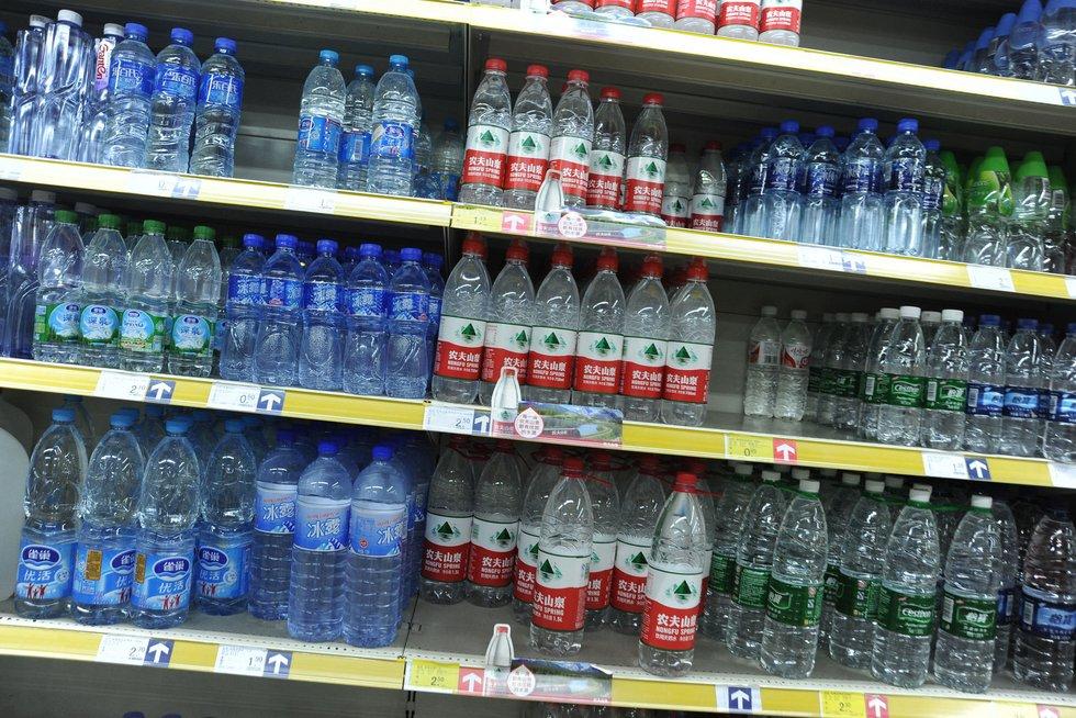 Vanduo buteliuose (nuotr. SCANPIX)