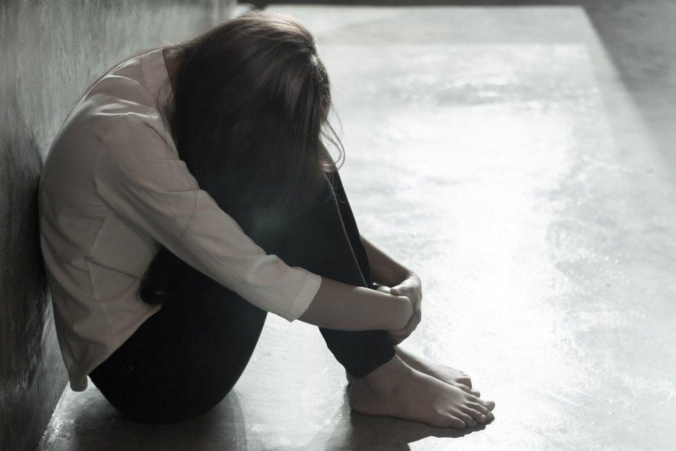 Seksualinio smurto auka (nuotr. 123rf.com)