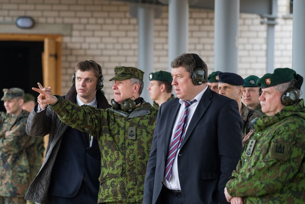 Krašto apsaugos ministras R. Karoblis