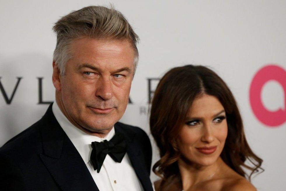 Alecas Baldwinas ir žmona (nuotr. SCANPIX)