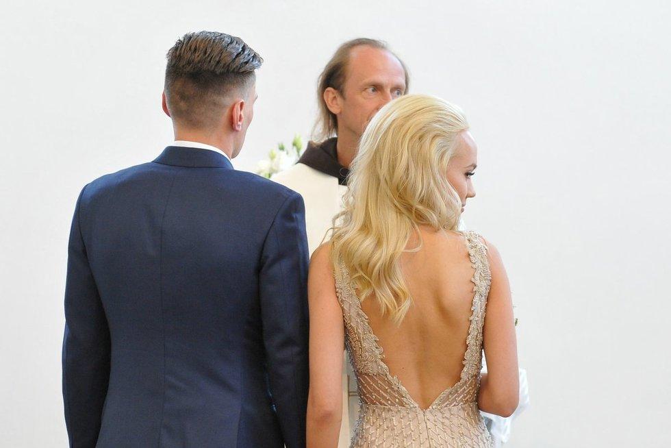 Lauryno Samėno ir Gretos Butkevič vestuvės (nuotr. Fotodiena.lt)