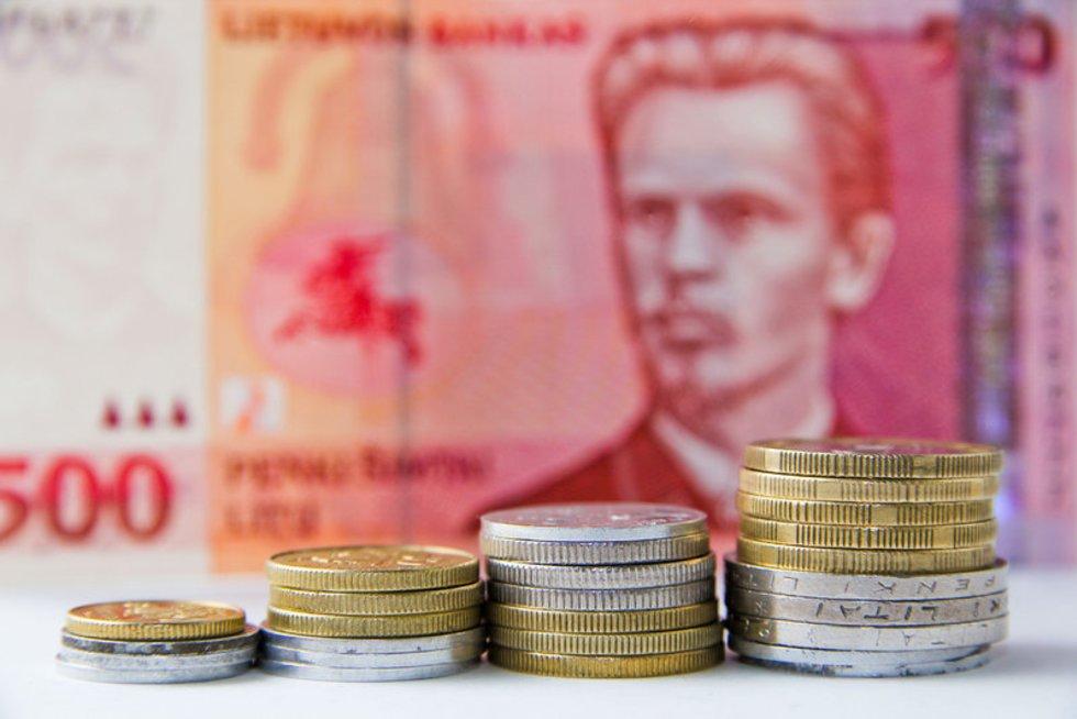 Pinigai (nuotr. Fotodiena.lt/Dmitrijaus Radlinsko)