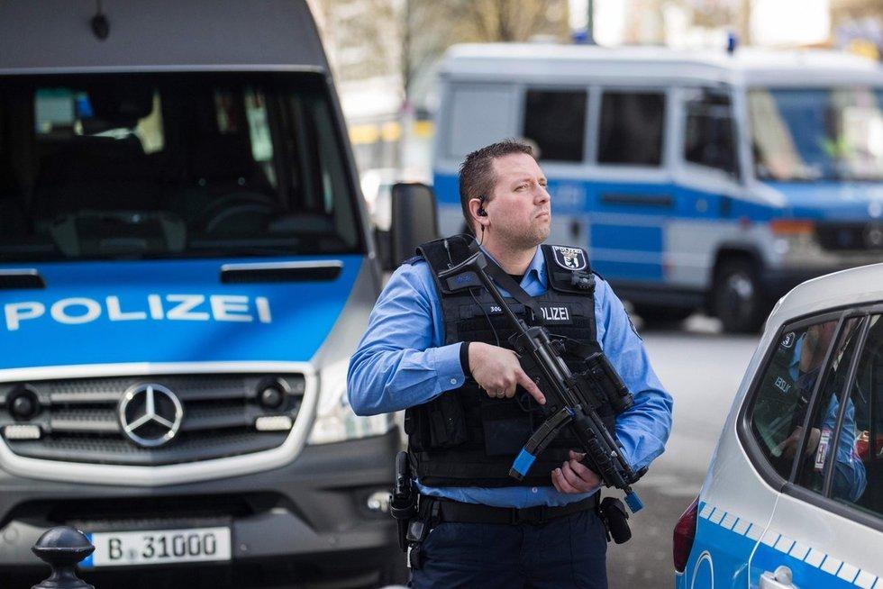 policija Vokietijoje (nuotr. SCANPIX)